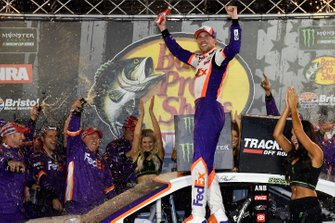 Race Winner Denny Hamlin, Joe Gibbs Racing, Toyota Camry