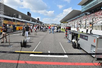 Pole position slot on the grid