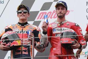 1. Andrea Dovizioso, Ducati Team, 2. Marc Marquez, Repsol Honda