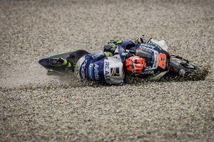 Sturz: Tito Rabat, Avintia Racing