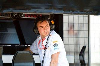 Технический директор McLaren Джеймс Ки