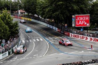 Johan Kristoffersson, SLR Volkswagen Volkswagen Golf GTI TCR, Nicky Catsburg, BRC Hyundai N LUKOIL Racing Team Hyundai i30 N TCR