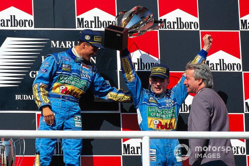 1994 - Michael Schumacher et Jos Verstappen