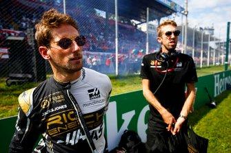 Romain Grosjean, Haas F1, op de grid
