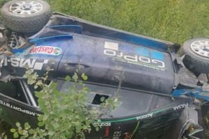 Accidente de Hayden Paddon, M-Sport
