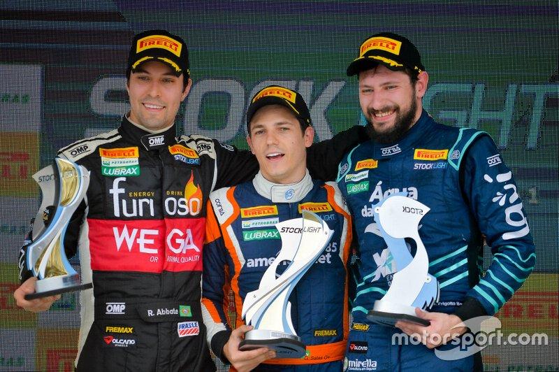 Da esquerda para a direita, Raphael Abbate, Guilherme Salas e Gustavo Frigotto - Stock Light