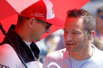 Nico Müller, Audi Sport Team Abt Sportsline, mit Timo Scheider