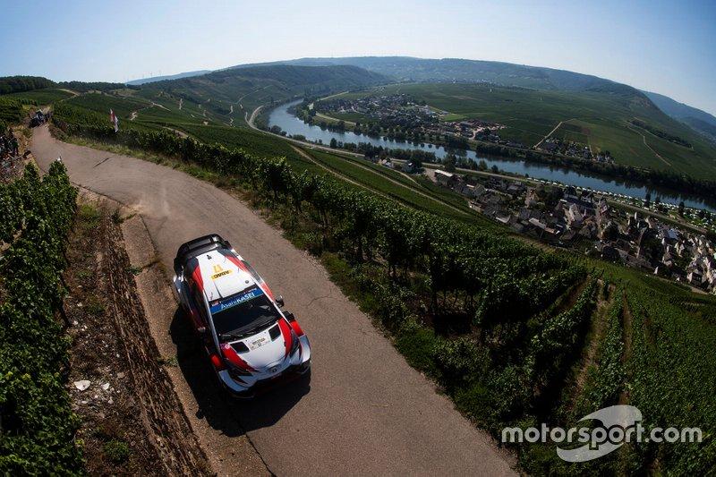 Takamoto Katsuta, Daniel Barritt, Toyota Yaris WRC, Alemania 2019: 10º