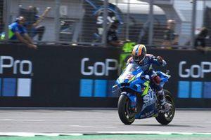 Alex Rins, Team Suzuki MotoGP, vainqueur de la course