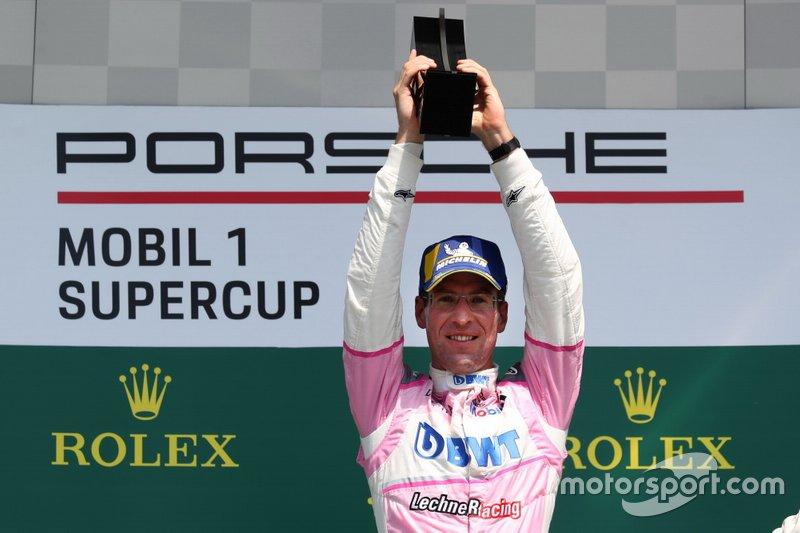 Podium: Race winnaar Michael Ammermüller, BWT Lechner Racing