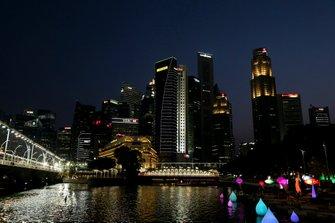 Vista scenica al GP di Singapore