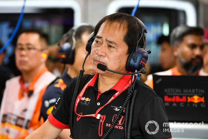 تويوهارو تانابي، المدير التقني لهوندا