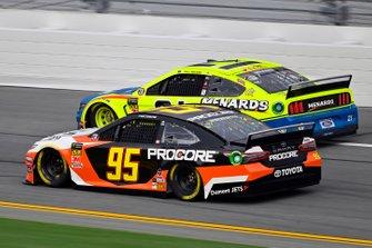 Matt DiBenedetto, Leavine Family Racing, Toyota Camry Procore and Joe Graf Jr., Richard Childress Racing, Chevrolet Camaro Eat, Sleep, Race