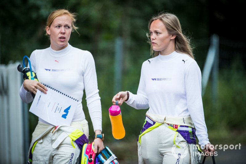 Alice Powell and Sarah Moore
