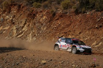Kajetan Kajetanowicz, Maciej Szczepaniak, Skoda Fabia R5, Rally Turkey, WRC 2