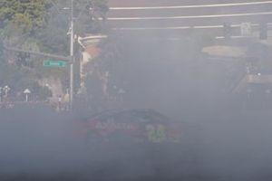 Burnout: William Byron, Hendrick Motorsports, Chevrolet Camaro AXALTA