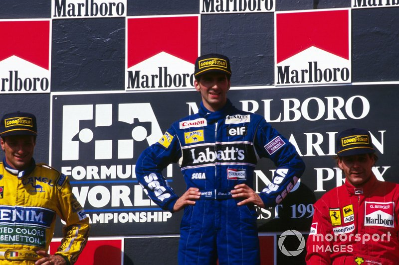 #80 Damon Hill, Williams