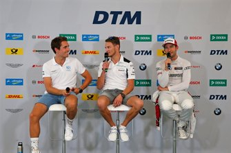 Press Conference, Daniel Juncadella, R-Motorsport, Marco Wittmann, BMW Team RMG, Mike Rockenfeller, Audi Sport Team Phoenix