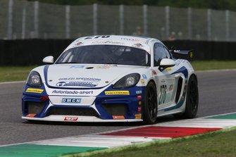 #276 Porsche 718 Cayman GT4, Autorlando Sport: Ghezzi-Chiesa-Babini