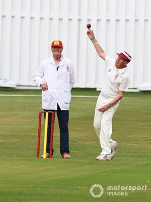 Partido de Cricket Nick Goozee Richard Atwood