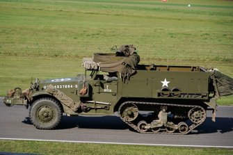 Halftrack in the D-Day commemoration