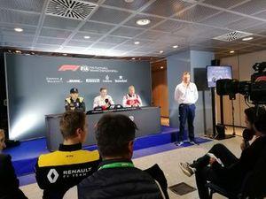 Пресс-конференция: Каллум Илотт, Charouz Racing System, Гуаньют Чжоу, UNI-Virtuosi, и Никита Мазепин, ART Grand Prix