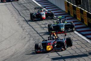 Juri Vips, Hitech Grand Prix, Jake Hughes, HWA RACELAB and Leonardo Pulcini, Hitech Grand Prix