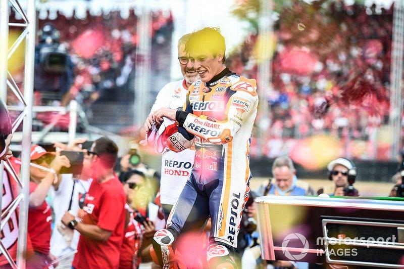 Campeón del mundo Marc Márquez, Repsol Honda Team
