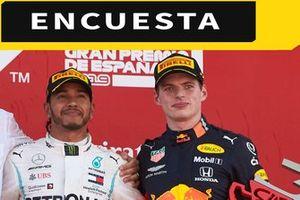 Encuesta Max Verstappen-Lewis Hamilton