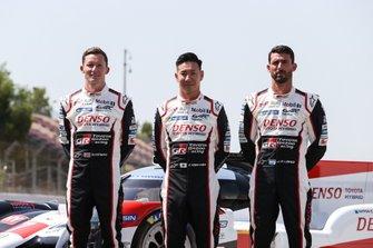 #7 Toyota Gazoo Racing Toyota TS050 - Hybrid: Mike Conway, Kamui Kobayashi, Jose Maria Lopez