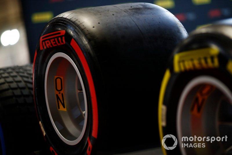 Pneumatico della Pirelli F1