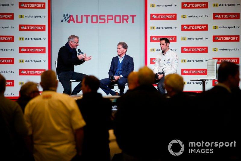 Malcolm Wilson, M-Sport e Richard Millener sul palco