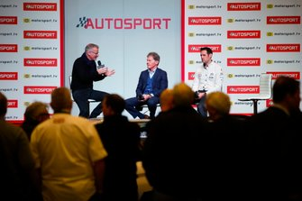 Malcolm Wilson, M-Sport and Richard Millener on stage