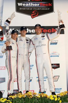 Podium: #7 Acura Team Penske Acura DPi: Ricky Taylor, Helio Castroneves, Graham Rahal