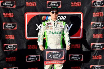 Pole sitter Tyler Reddick, Richard Childress Racing, Chevrolet Camaro Alsco