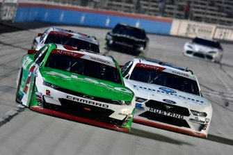 Tyler Reddick, Richard Childress Racing, Chevrolet Camaro Alsco and Cole Custer, Stewart-Haas Racing, Ford Mustang Thompson Pipe Group