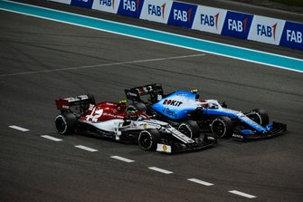 Robert Kubica, Williams FW42, Antonio Giovinazzi, Alfa Romeo Racing C38