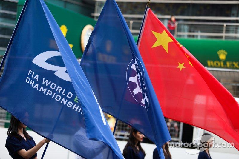 Banderas en Shanghai
