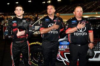 Chandler Smith, Kyle Busch Motorsports, Toyota Tundra iBUYPOWER\828 Logistics