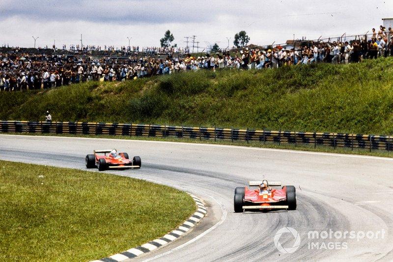 Gilles Villeneuve, Ferrari, Jody Scheckter, Ferrari