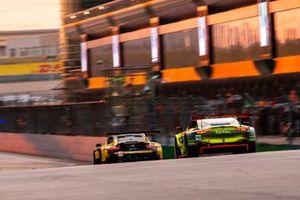 #95 Aston Martin Racing Aston Martin Vantage AMR: Marco Sørensen, Nicki Thiim