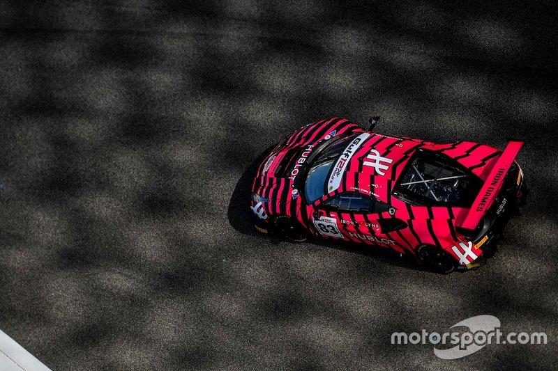 #83 Iron Lynx Ferrari 488 GT3: Manuela Gostner, Rahel Frey, Michelle Gatting