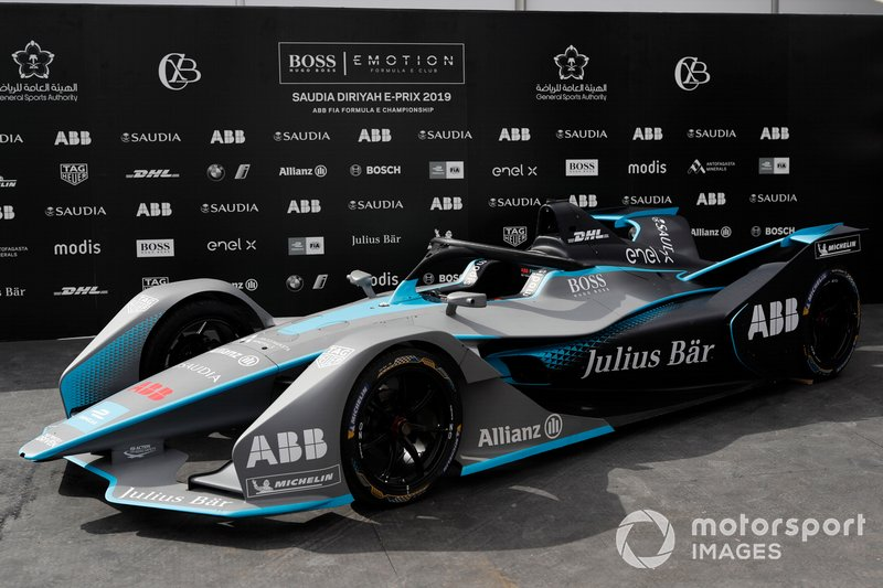 FIA ABB Formula E Gen 2 car