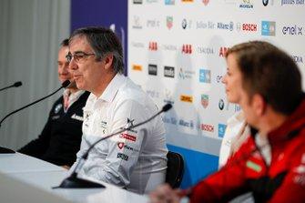 Mark Preston, Team Principal, DS Techeetah in the press conference