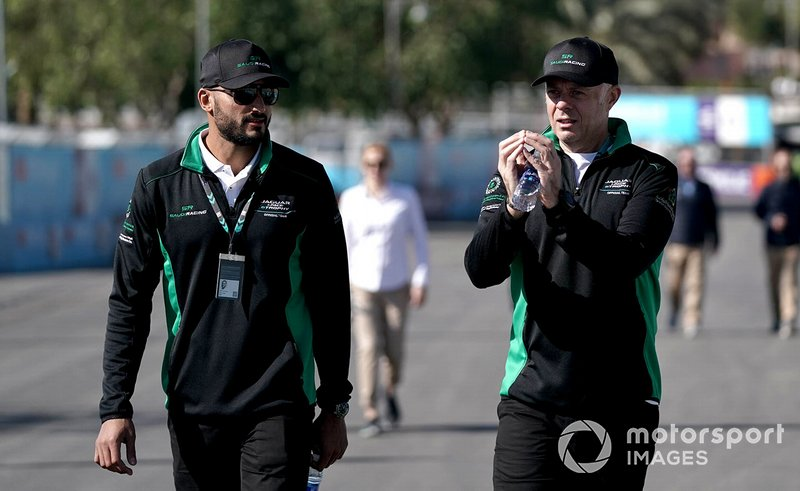 Fahad Algosaibi, Saudi Racing on the track walk