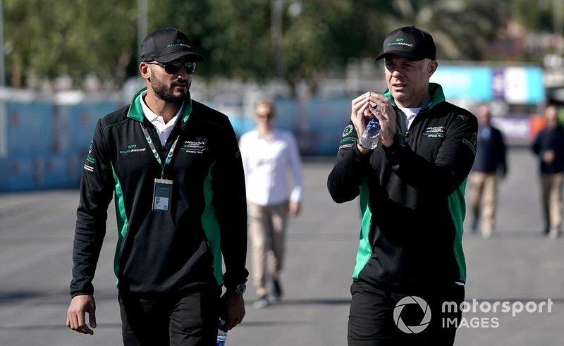 Fahad Algosaibi, Saudi Racing on the track walk