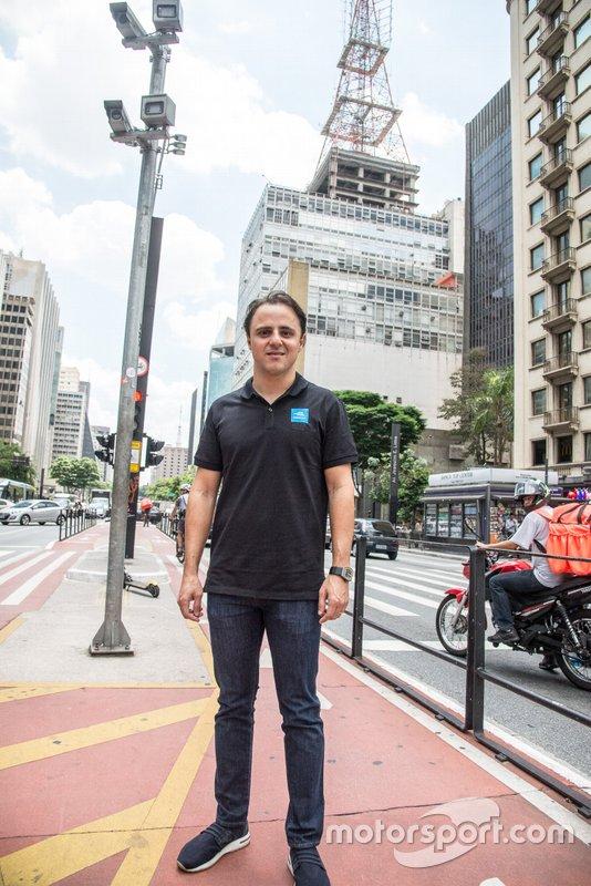 Felipe Massa em São Paulo