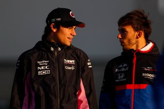 Lance Stroll, Racing Point, Pierre Gasly, Toro Rosso