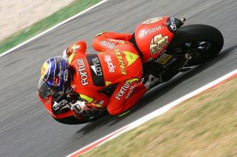 Jorge Lorenzo, Fortuna Aprilia, Moto2 2006, 250cc: Barcellona
