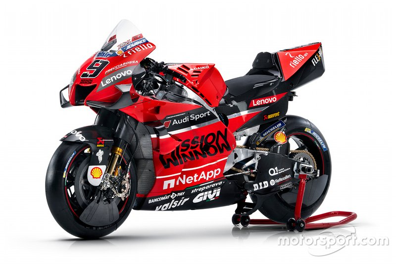 Ducati Desmosedici GP20 * Foto: GP19 im 2020er-Design